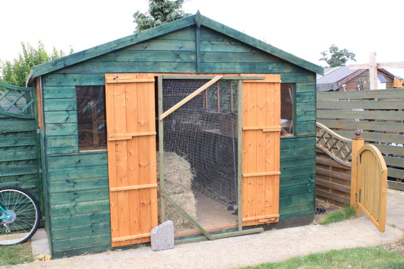 2nd view - Accommodation Shed